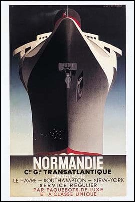 Why has Russia never build Ocean Liners? Normandie_poster