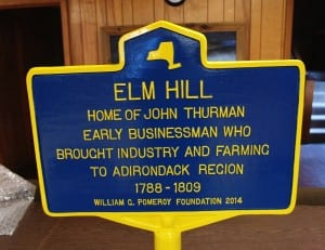 Thurman Marker sign 2