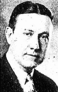 Amsterdam Mayor Arthur Carter 1933