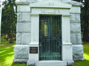 Miller Grave - North Dakota First Governor