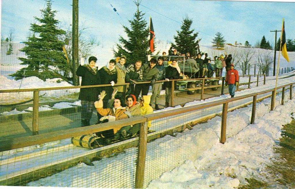 Winter Recreation Resorts In The Catskills The New York
