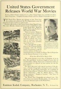 Eastman Kodak Company ad