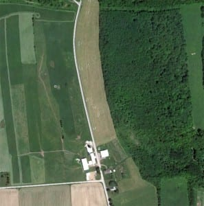 Google Earth 2012 View of Casey Farm