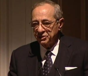 Mario Cuomo in 2009 (courtesy New York State Writers Institute)