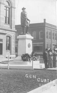 NMC postcard statue
