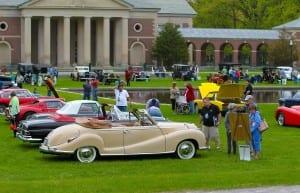 Saratoga Auto Museum Spring Auto Show