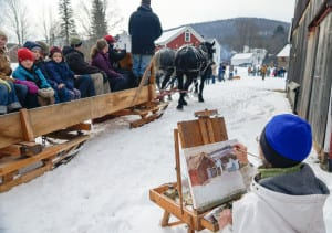 sleigh and painter
