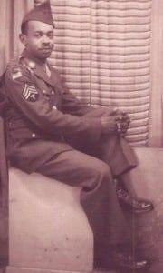 Augustus Freer in his WWII uniform c 1942
