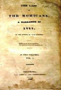 First edition Last of the mohicans