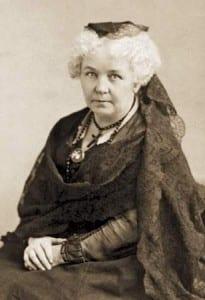 Elizabeth Cady Stanton circa 1880