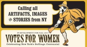 Votes For Women call for artifacts