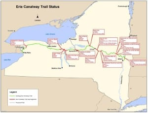 Erie Canalway Trail Progress 2014
