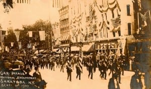 Grand Army of the Republic in Saratoga 1907