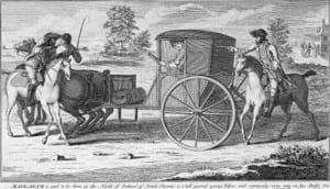 Highwaymen rob carriage