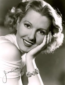 Jean Arthur publicity photo from the mid-1930s