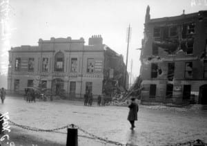 Liberty Hall, headquarters of the Citizen Army during the Easter Rising