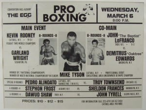 Mike Tyson debut fight
