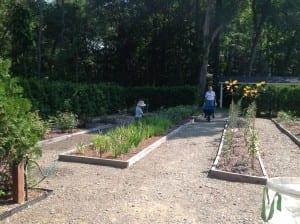 Val-Kill garden volunteers
