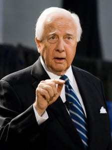 David McCullough speaking at Emory University on April 25 2007