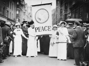 1914 NYC Peace Protest