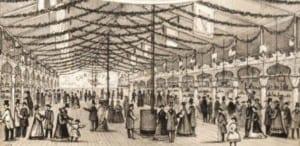 Albany Civil War bazaar vignette 1