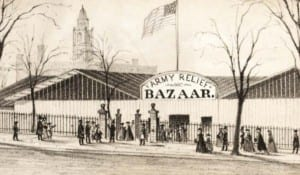 Albany Civil War bazaar vignette 2