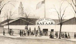 Albany Civil War bazaar vignette 2