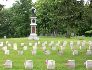 Albany Rural Cemetery Soldiers' Lot