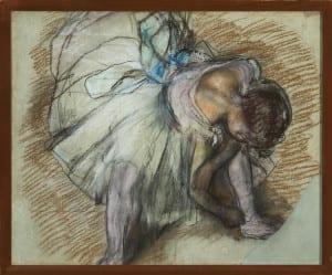 Degas, Edgar -  Dancer Adusting Her Shoe  - 1975.6 - HIGH RES