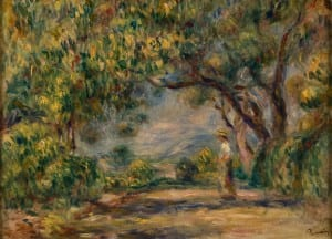 After 1907, Dixon permanent Collection, Les Colettes, Oil on can