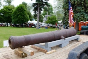 Cape Vincent Cannon display 2