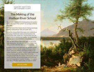 Hudson River Scool Online Exhibit