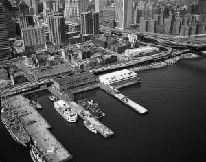 South Street Seaport in the 1970s