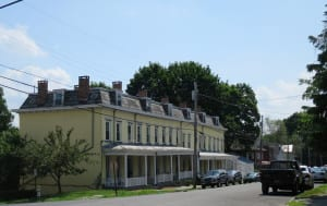 Tubby Row, an early housing project, still in use.