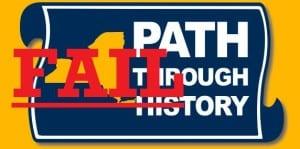 Path Through History Fail