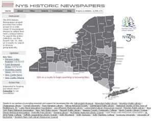 Historic NY Newspapers