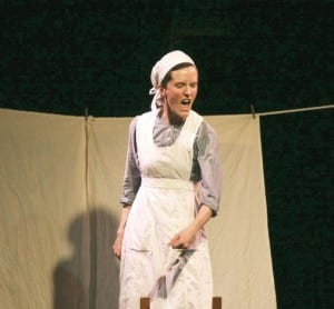 Erin Layton plays a girl sentenced to scrub.