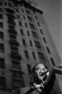 Malcolm X- Rally for Birmingham, 1963. by Larry Fink. All images courtesy of Ilon Art Gallery