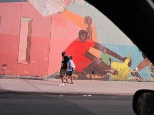 Family Painted Wall by Len Speier. 2014