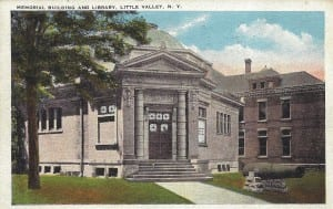 Cattaraugus County Memorial Postcard Color
