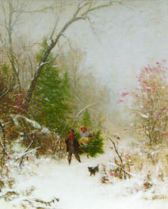 McEntee- Christmas in the Catskills,1867