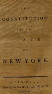 1777 New York State Constitution