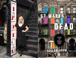 Ada Calhoun poses on St. Marks