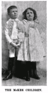 The McKee children, printed in Harpers Round Table in 1895