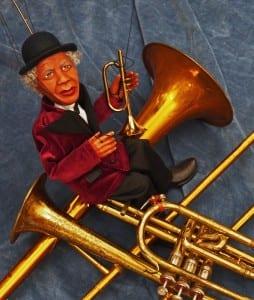 Puppet horn