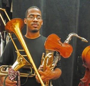 James Brandon Lewis jazz score