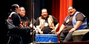 Lakota Music project & Creekside Singers, a Lakota drumming group