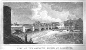 aqueduct bridge at rochester