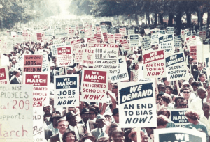 We March We Demand Courtesy of Library of Congress