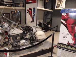 The 13th bike in the JFK Motorcade